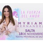 """Myriam Hernández presenta """"La Fuerza del Amor Tour"""""""